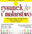 Zajęcia RYSUNKU I MALARSTWA