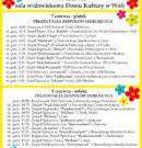 Program Festiwalu Folklorystycznego